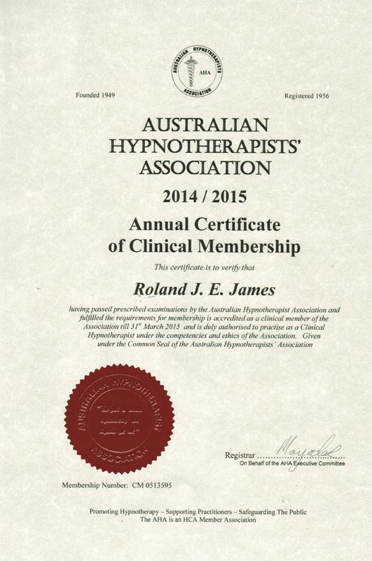 Australian Hypnotherapist Assoc