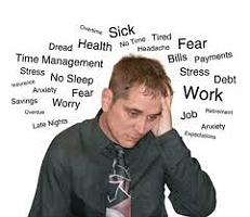 man having depression