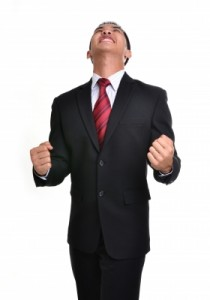 PNG Business Man Stressed