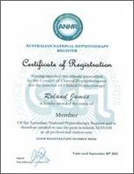 Hypnotherapist Certificate