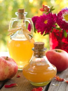 Apple cider vinegar acne treatment