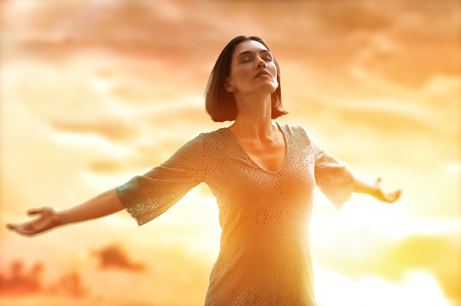 free of stress and depression with the Richards Process