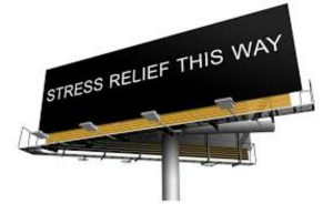 stress billboard